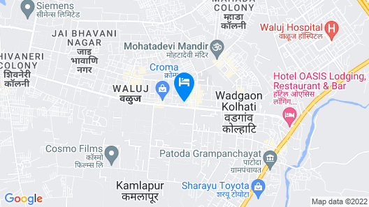 OYO 19622 Hotel Morya Map
