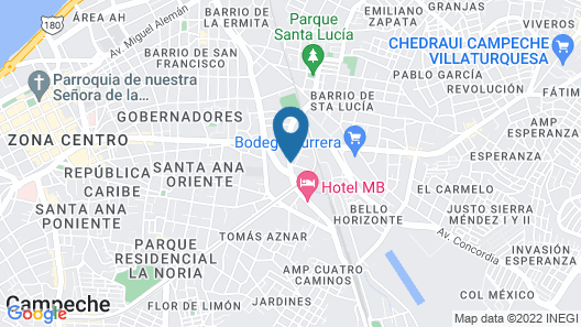 HOTEL MB Map