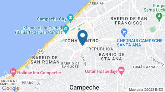 Hacienda Puerta Campeche,a Luxury Collection Hotel, Campeche Map