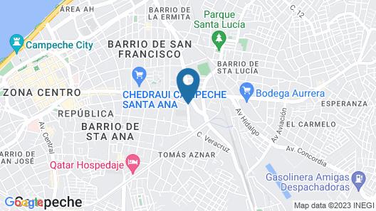 OYO Hotel Puesta del Sol Map