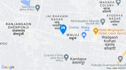 Hotel Manik Map