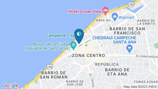Hotel Baluartes Map