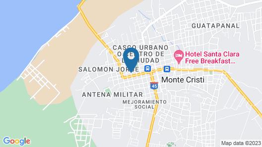 Don Gaspar Hotel Restaurant Inn Map