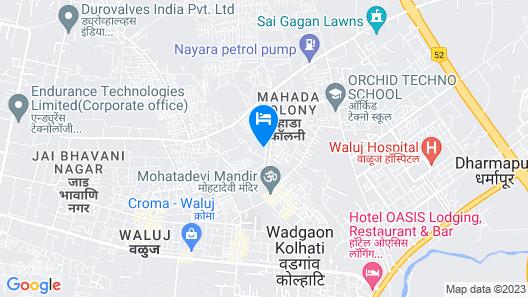OYO 22999 Hotel Kandil Map