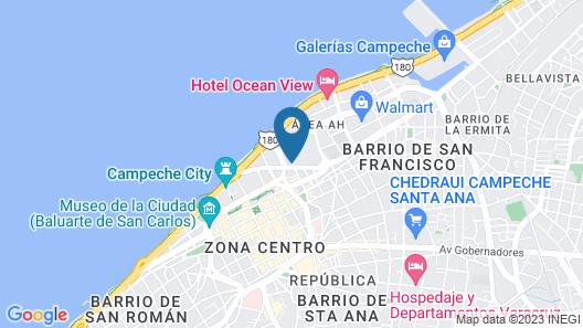 City Express Campeche Map