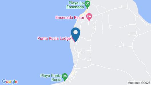Punta Rucia Lodge Map