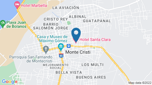 Hotel Santa Clara Map