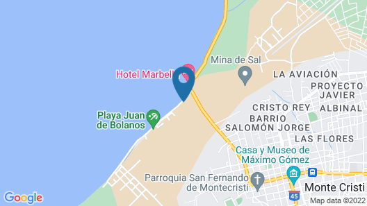 Aparta-Hotel Cayo Arena Montecristi Map