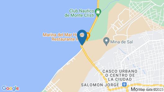 Hotel Marbella Montecristi Map