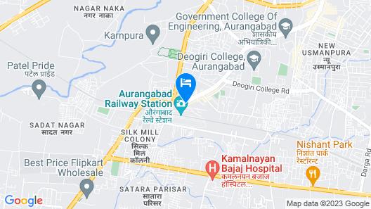 Hotel Tirupati Map