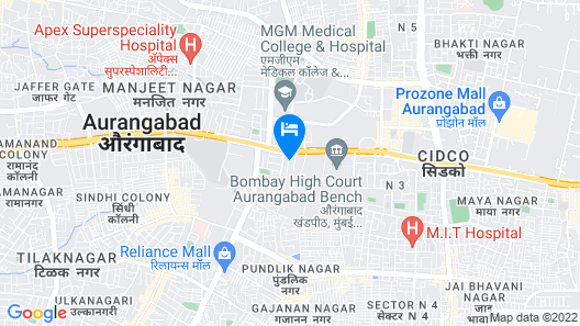 OYO 12049 Hotel Ravi Kiran Executive Map