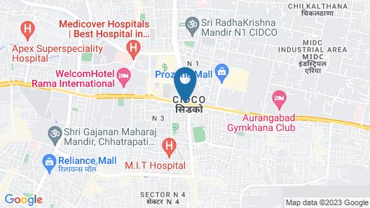 Lemon Tree Hotel, Aurangabad Map