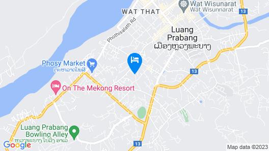Vansana LuangPrabang Hotel Map