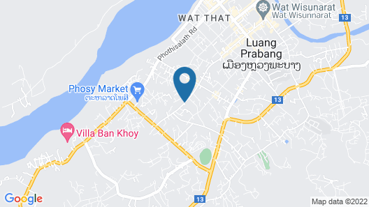 The Luang Say Residence Map