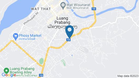 Kiridara Luang Prabang Map