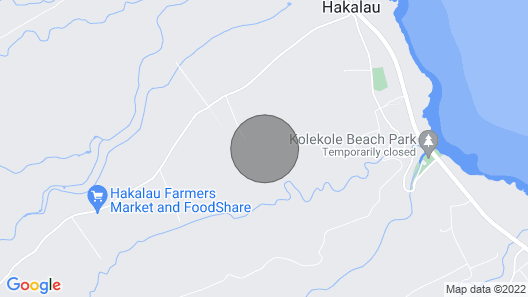 Hulili Tropical Fruit Farm - NEW Pineapple Cottage Map