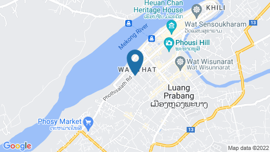 Angsana Maison Souvannaphoum Map