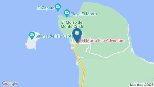 El Morro Eco Adventure Hotel Map
