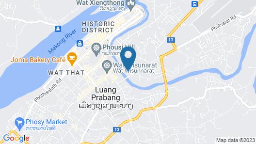 Le Bel Air Resort Luang Prabang Map