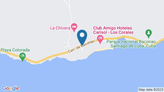 Club Amigo Carisol los Corales – All Inclusive Map