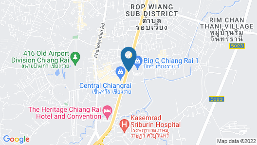 Grand Vista Hotel Chiangrai Map