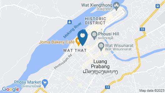 Avani+ Luang Prabang Hotel Map