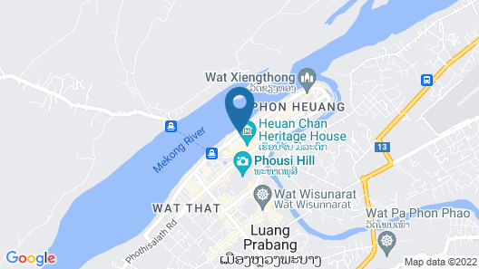 View Khem Khong Guesthouse Map