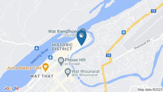 Burasari Heritage Luang Prabang Map