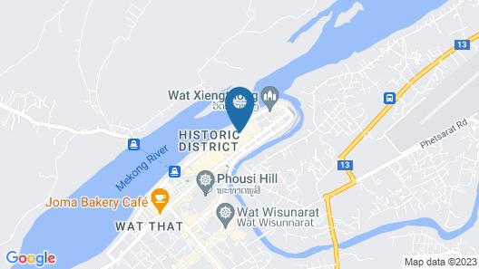 Wisdom Laos Hotel Map