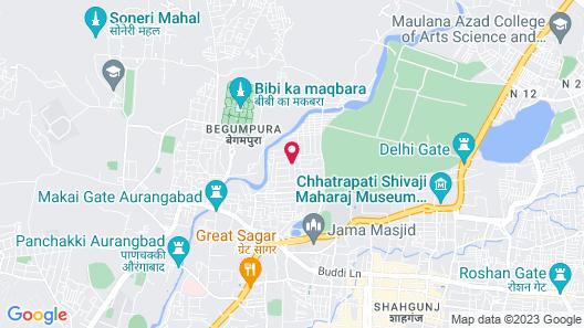 Vivanta Aurangabad Map