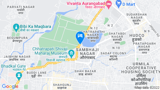 Hotel Royal Front Residency Map