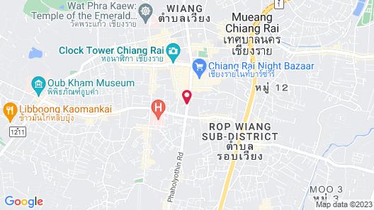 Hi Chiangrai Hotel Map