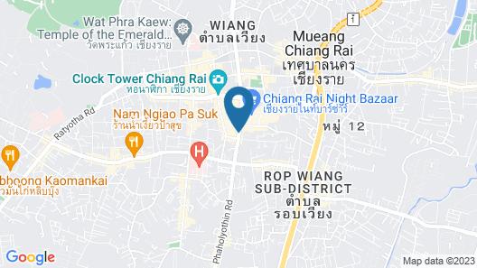 Wiang Inn Hotel Chiang Rai Map