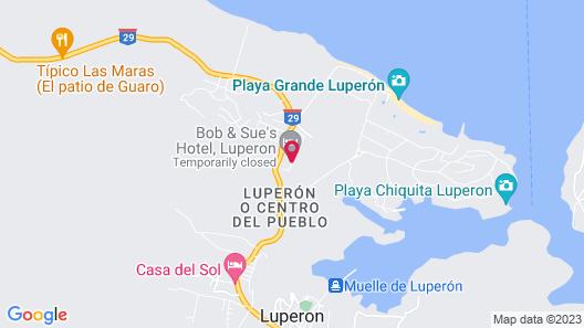 Bob & Sue's Hotel Map