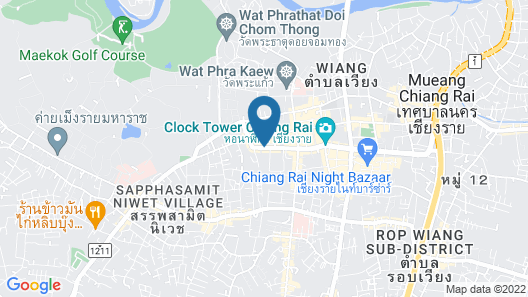 B2 Chiang Rai Boutique & Budget Hotel Map