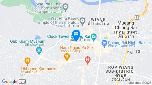 B2 Chiang Rai Boutique & Budget Hotel Map