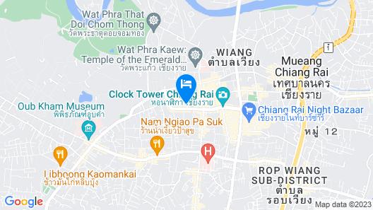 I-House Chiangrai Map