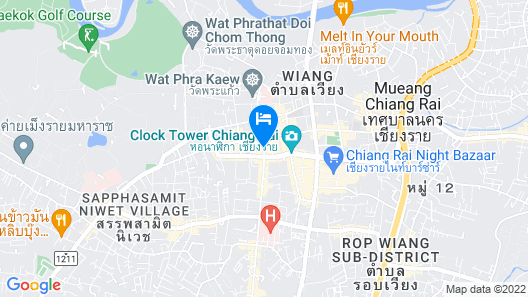Concept Yard Chiangrai - Adults Only Map
