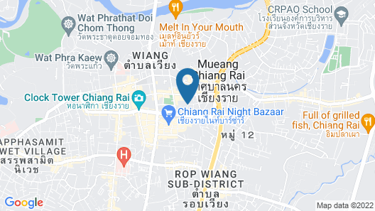 Nakaraj Princess Chiang Rai - Walking Street Map