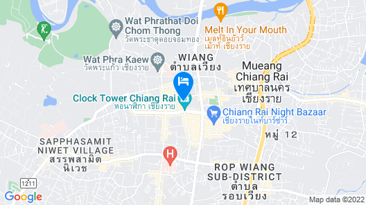Chiangrai Hotel Map