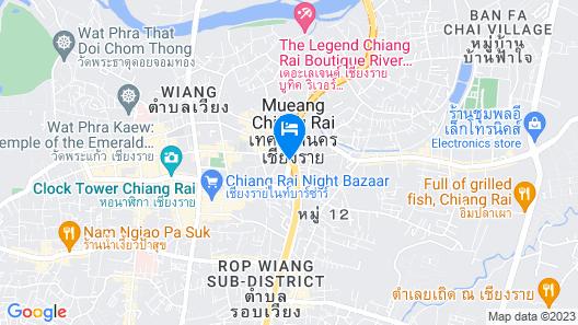 Work Den Chiangrai Map
