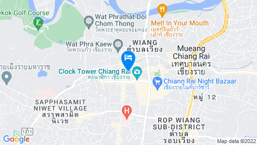 Tong Siam - Hostel Map