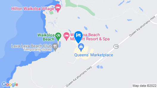 Waikoloa Fairway Villas Map