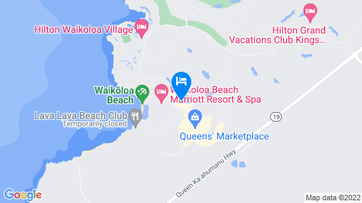 Kohala Coast Vacation Rental by Outrigger Map