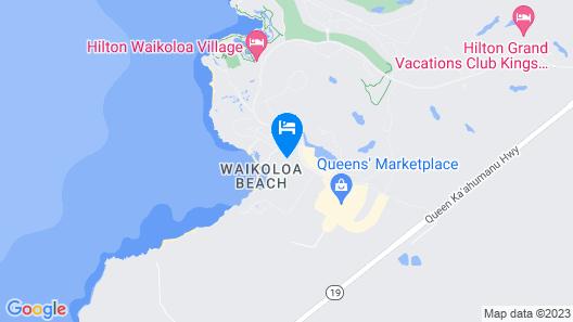Marriott's Waikoloa Ocean Club Map