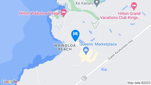 Waikoloa Beach Marriott Resort & Spa Map