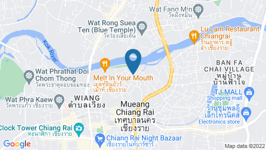 The Legend Chiang Rai Boutique River Resort and Spa Map