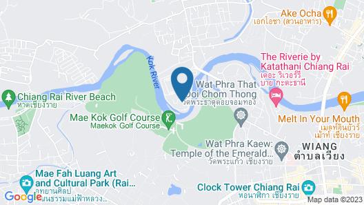 Chainarai Riverside Recreation Centre Map