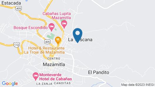 Bellavista Cabanas Map