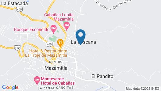 Villas Bellavista Map